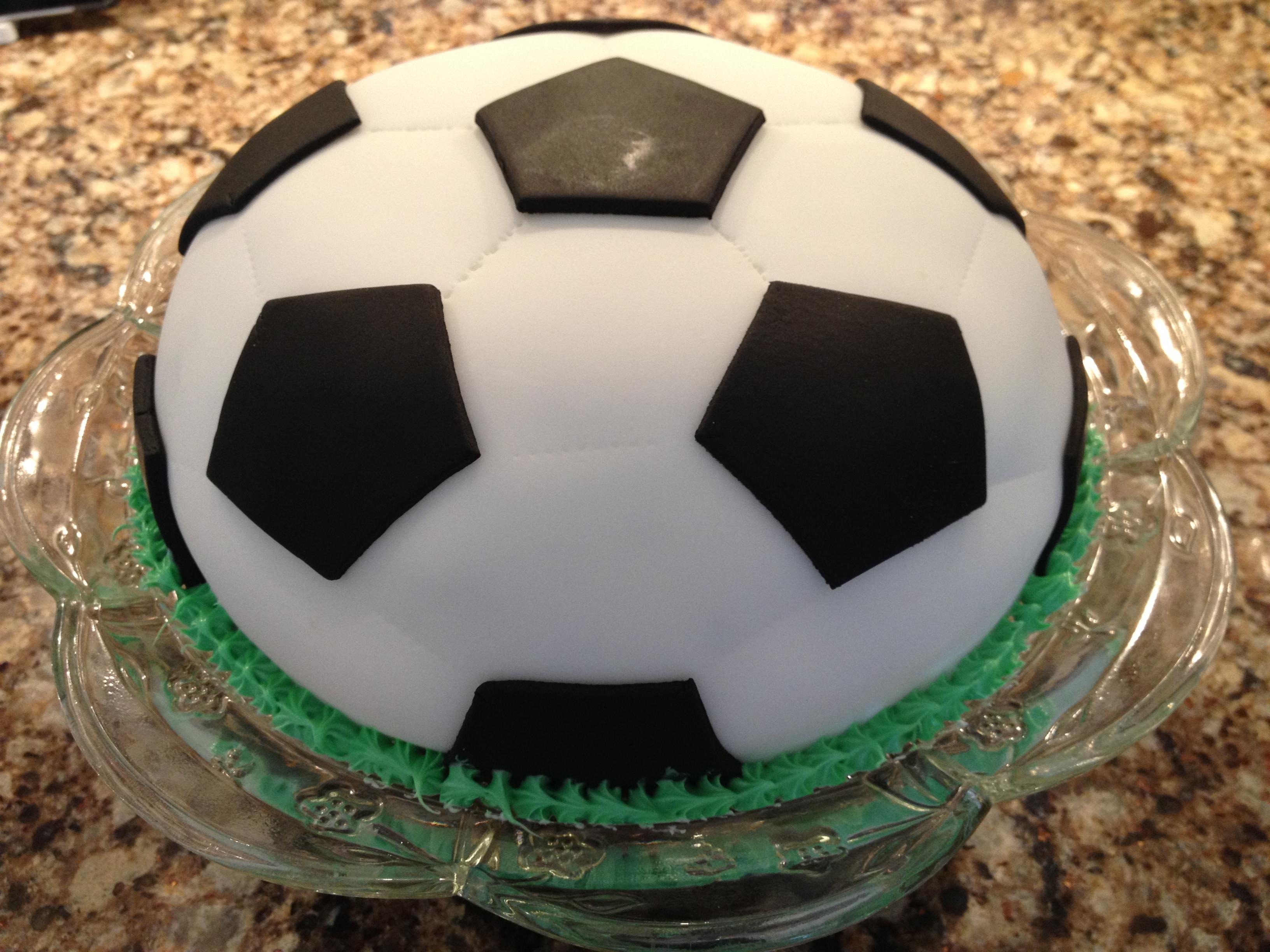 Soccer Ball Cake Rachelle s Blog