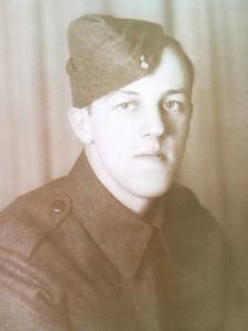 My Great Grandpa, Arthur Lester, serving in World War II, 1941.