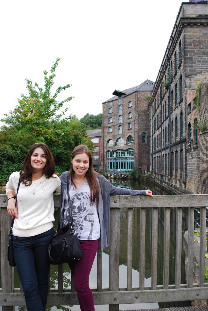 Anita and I at Quay Side, NC